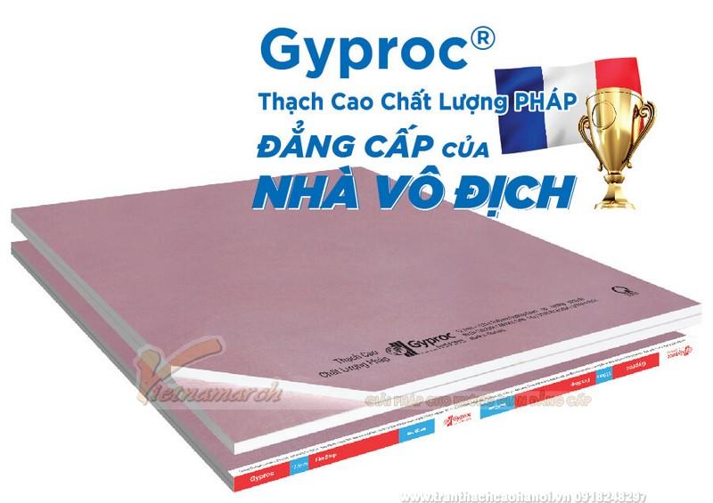 Tấm thạch cao Gyproc
