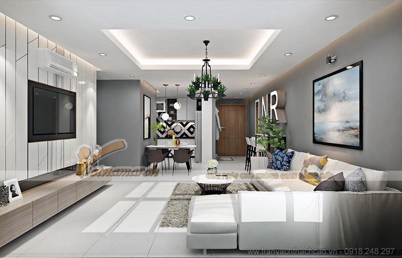 Những mẫu trần thạch cao hiện đại đẹp nhất dành cho phòng khách
