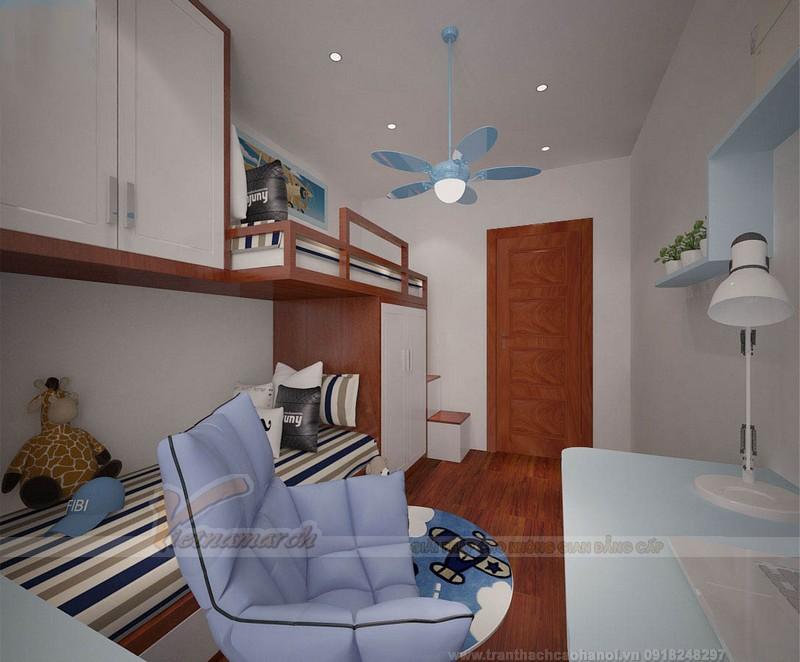 Mẫu trần thạch cao hiện đại cho phòng ngủ của trẻ