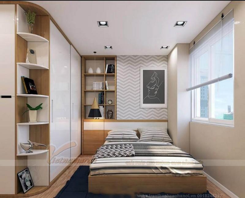 Mẫu trần thạch cao trần phẳng cho phòng ngủ của trẻ