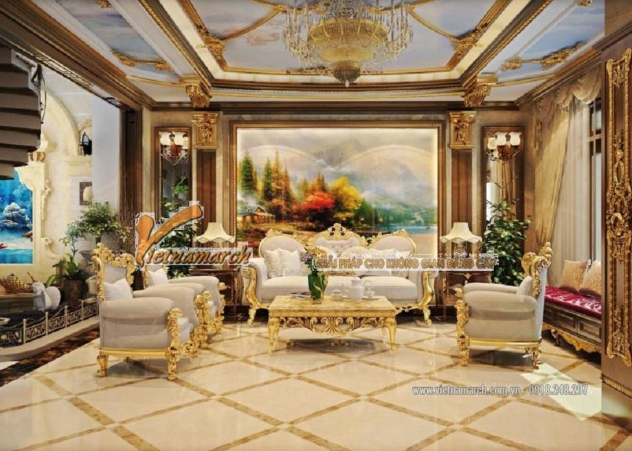 Những mẫu trần thạch cao phòng khách đẹp ngất ngây
