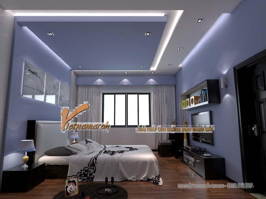 Những mẫu trần thạch cao phòng ngủ thiết kế hiện đại