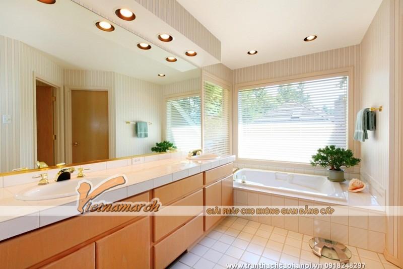 Trần thạch cao chống ẩm cho phòng tắm