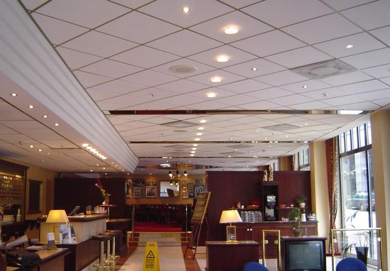 Đèn âm trần thạch cao thả cho nhà hàng