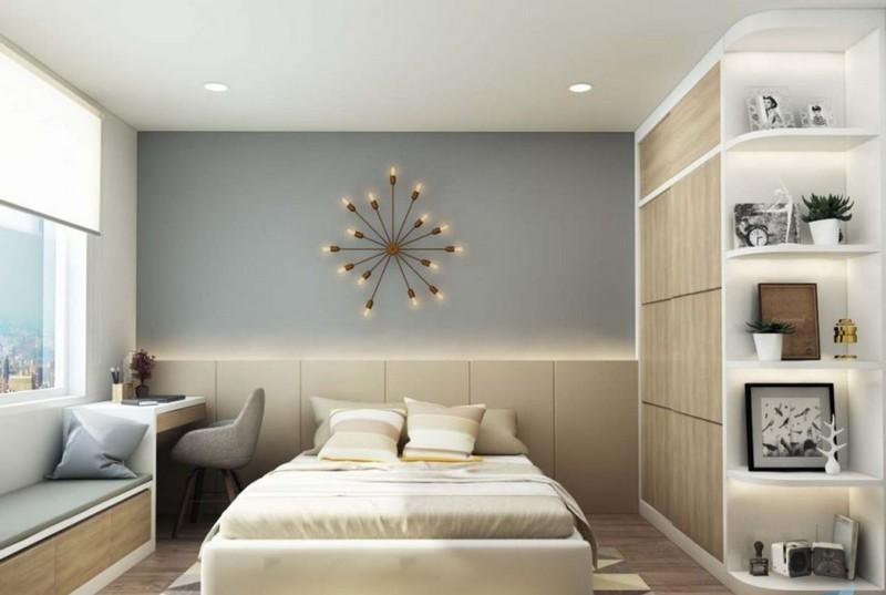 Trần thạch cao chung cư Eco Dream City