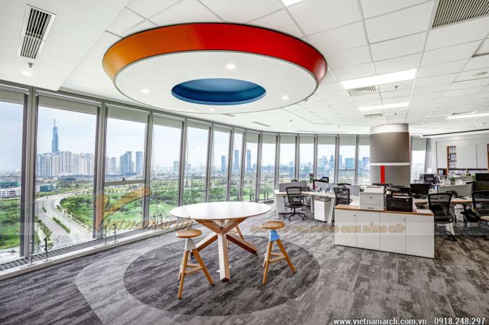 Mẫu trần thạch cao văn phòng đẹp