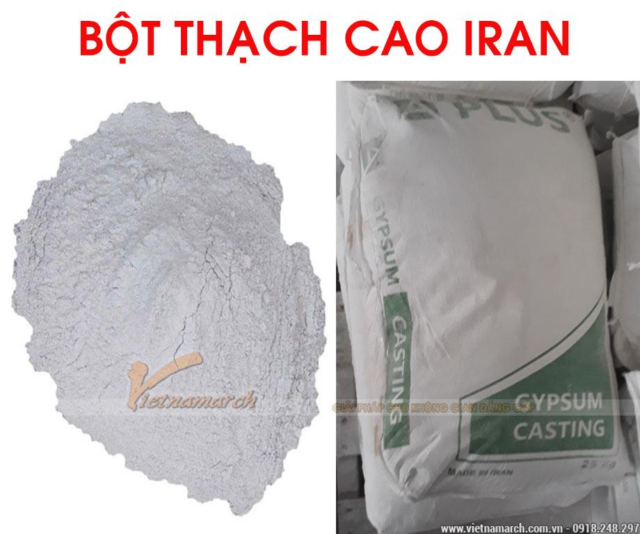 Bột thạch cao Iran