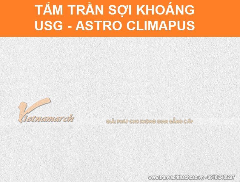 Tấm trần sợi khoáng USG Astro ClimaPus