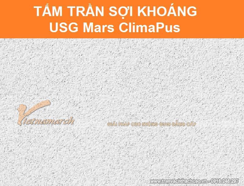 Tấm trần sợi khoáng USG Mars ClimaPus