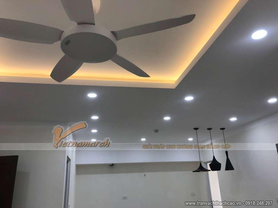 Dự án thi công trần thạch cao tại quận Hoàng Mai Hà Nội