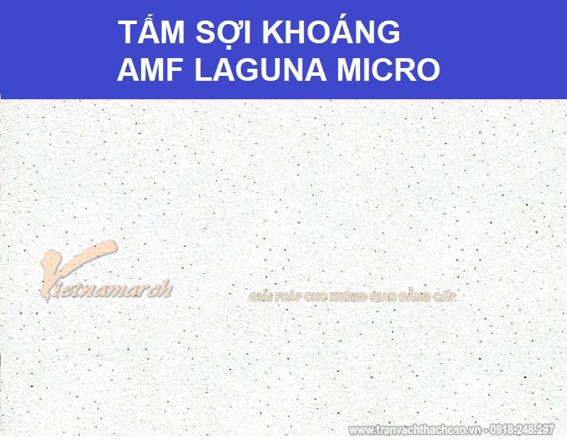 Tấm sợi khoáng AMF Laguna micro