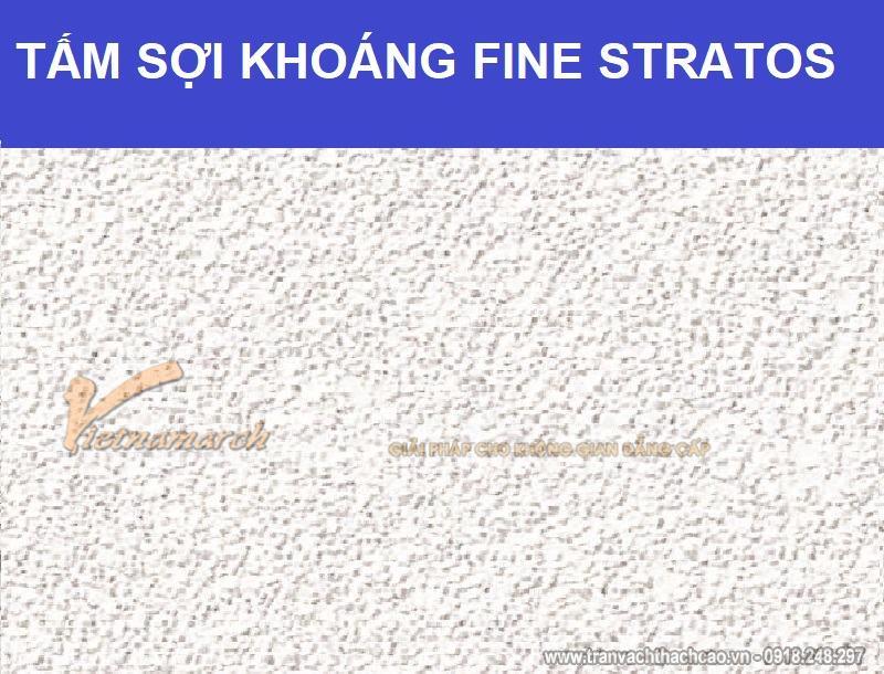 Tấm sợi khoáng Fine Stratos
