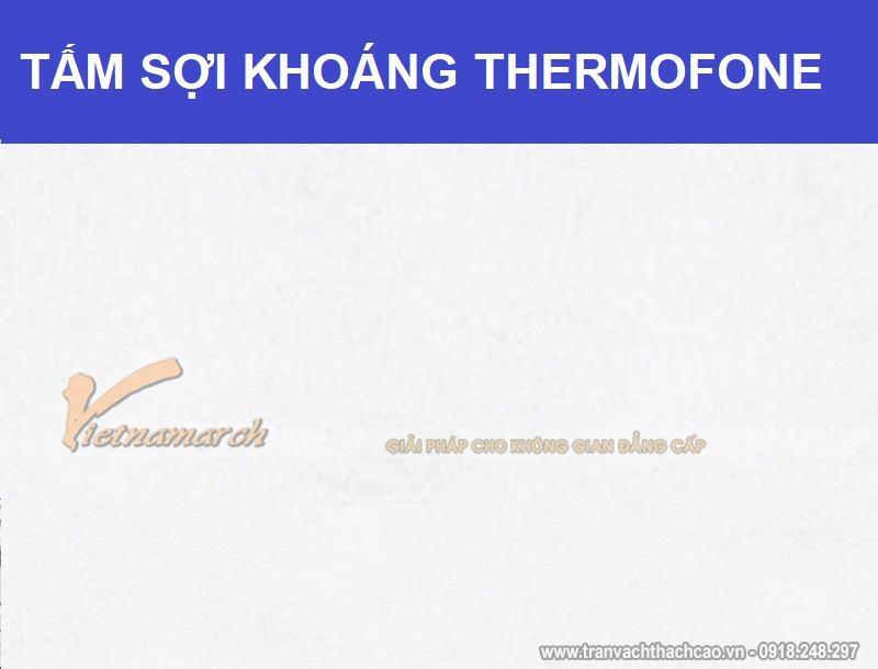 Tấm Sợi Khoáng Thermofone