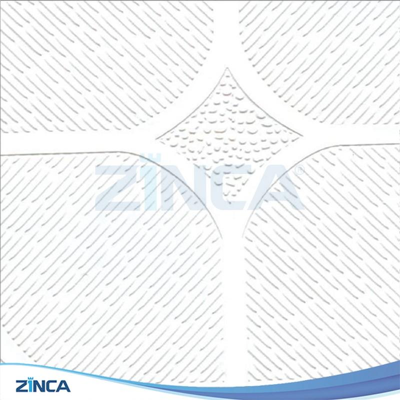 Tấm thạch cao thả ZINCA phủ PVC ZA 105