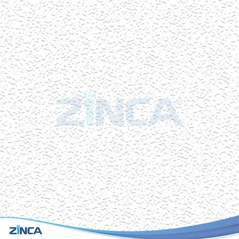 Tấm thạch cao thả ZINCA phủ PVC ZA 103