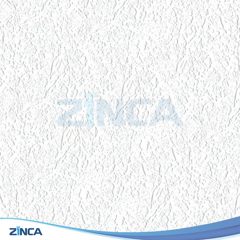 Tấm thạch cao thả ZINCA phủ PVC ZA 104