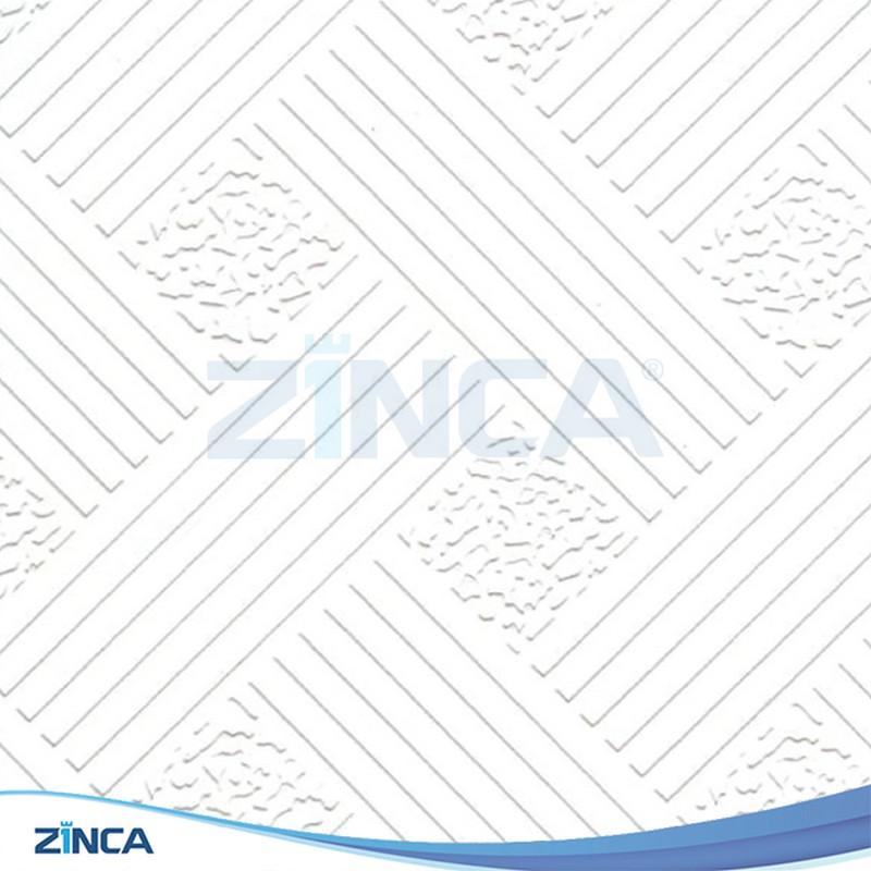Tấm thạch cao thả ZINCA phủ PVC ZA 106