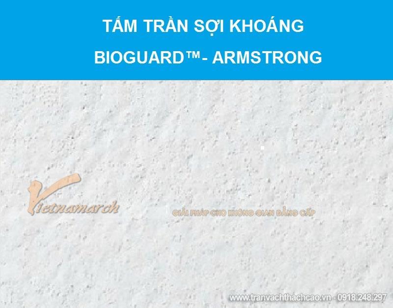 Tấm trần sợi khoáng BIOGUARD™- Armstrong